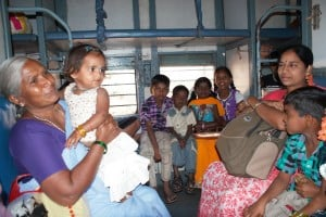 pociąg, Indie, indyjski pociąg